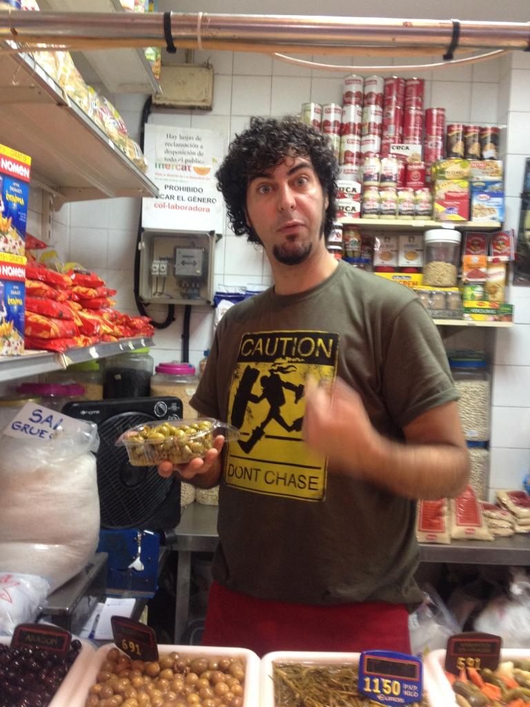 Der Händler meines Vertrauens für Oliven und andere
