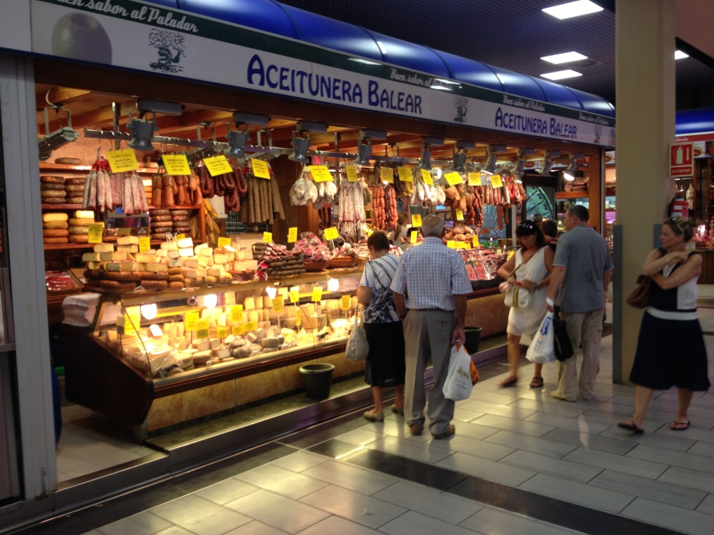 Die Aceitunera Balear - dort kaufe ich den Mahón