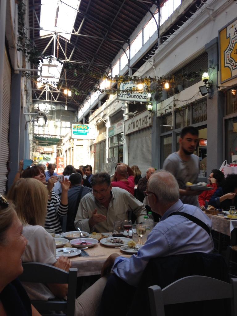 Das Restaurant in der Markthalle
