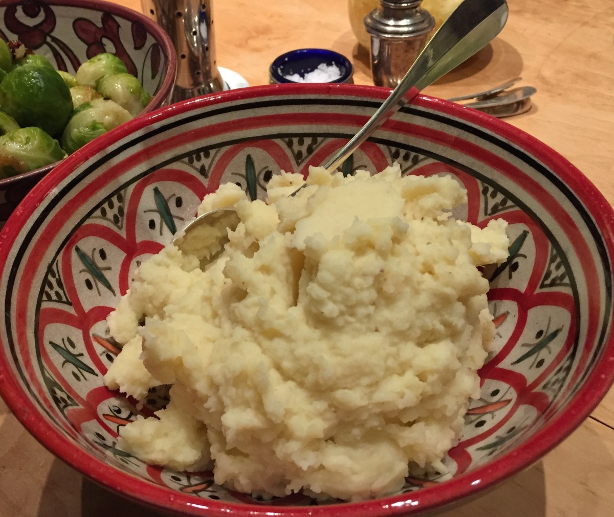 Kartoffelpüree oder Pastinakenpüree