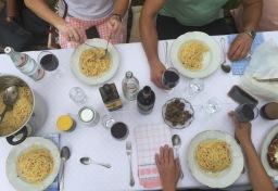 Zum Essen in Hüingsen