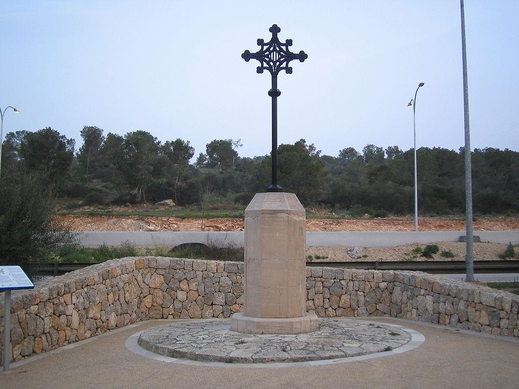 Das Kreuz der Montcadas