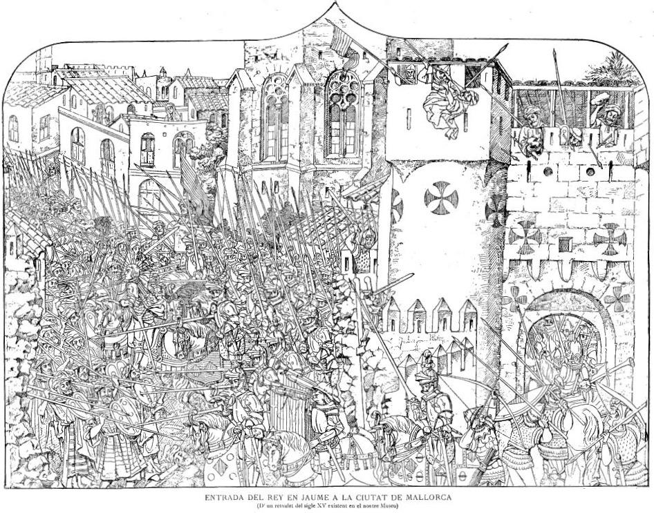 Fall der Mauer - 15tes Jh (1)