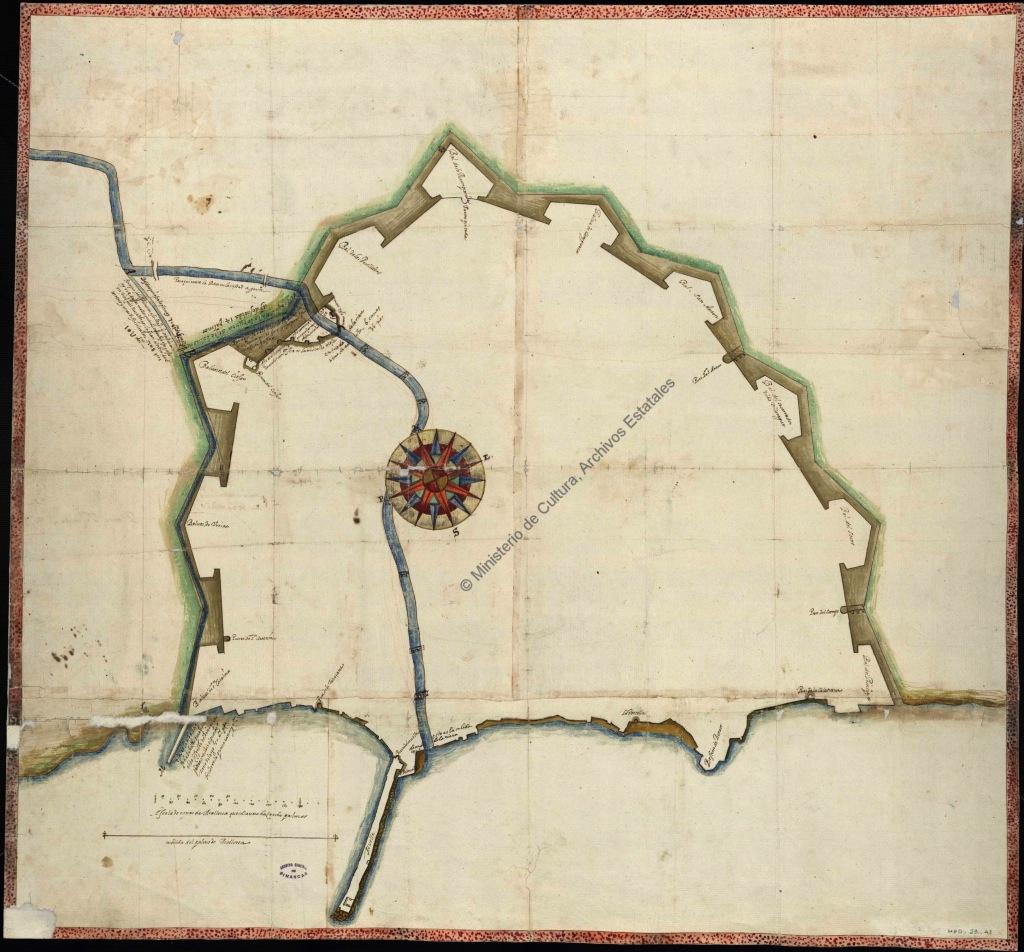 Palma Plano Saura 1634