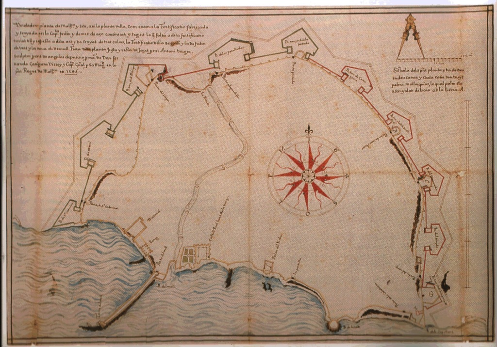 Palma Plano Verger 1596