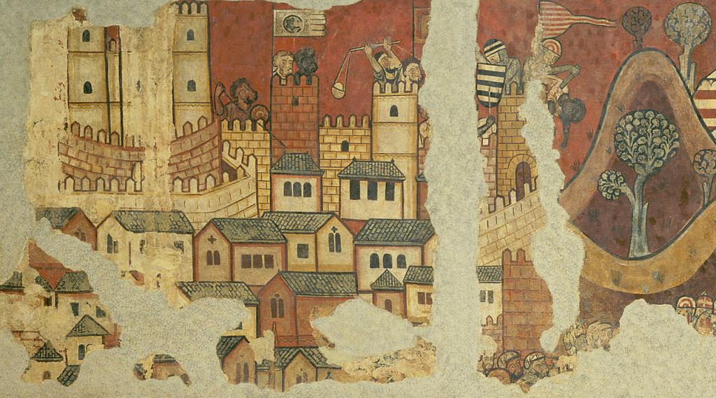 Wandbild - Belagerung der Stadt Palma 2