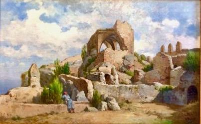 Pollenca - Antoni Ribas Oliver Castell del Rei ca 1880 (1)