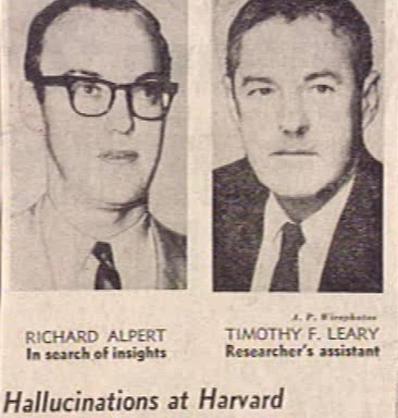 Leary Alpert Harvard 1961