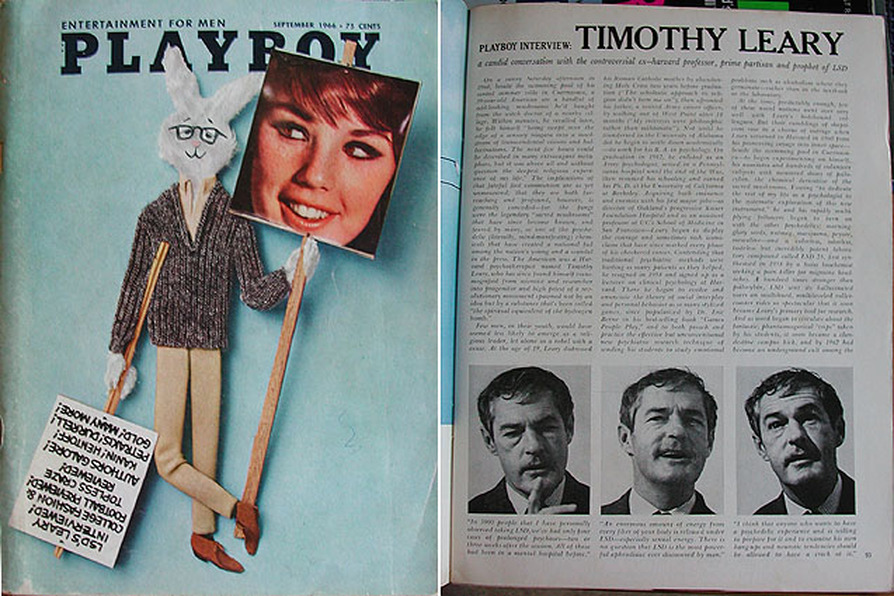 Leary Playboy Interview