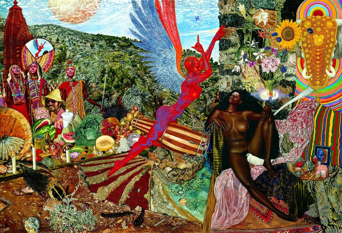 Mati Klarwein - ein psychedelischer Künstler?