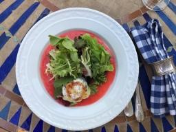 Chèvre Chaud – Ziegenkäse mit Salat