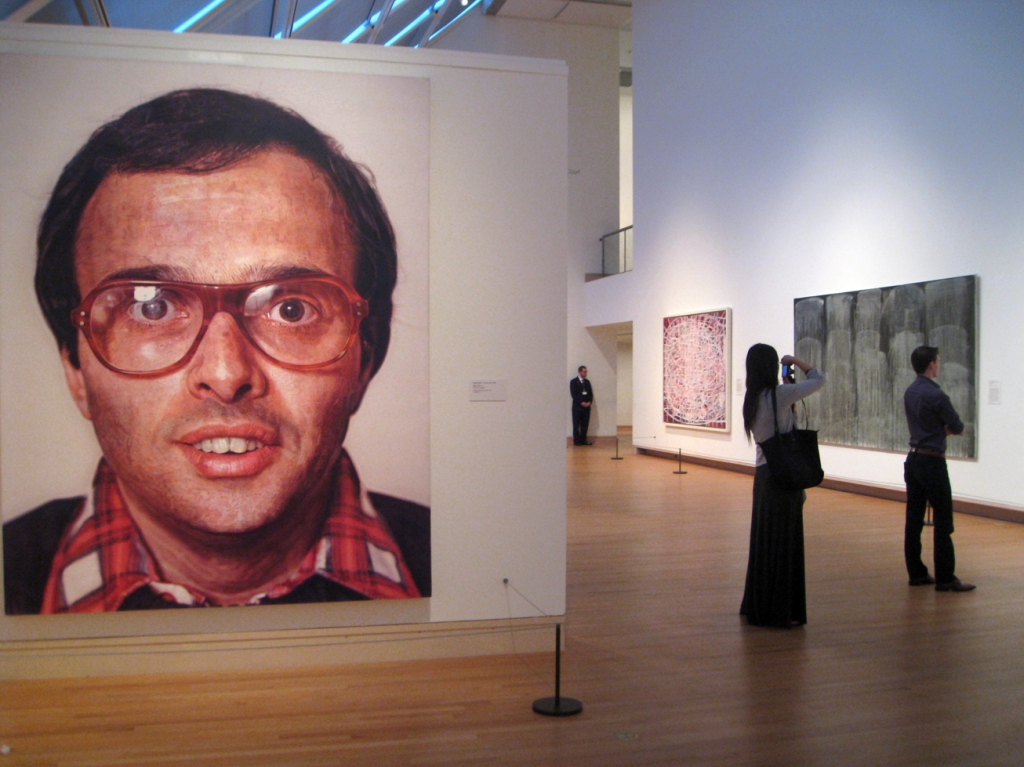 Chuck Close Mark 1979 - 2