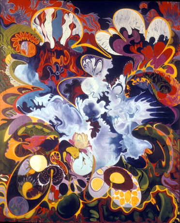 Isaac Abrams Cosmic Orchid 1967
