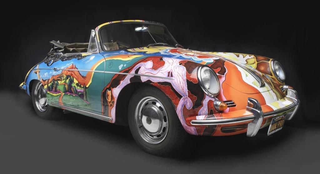 Janis Joplins Porsche