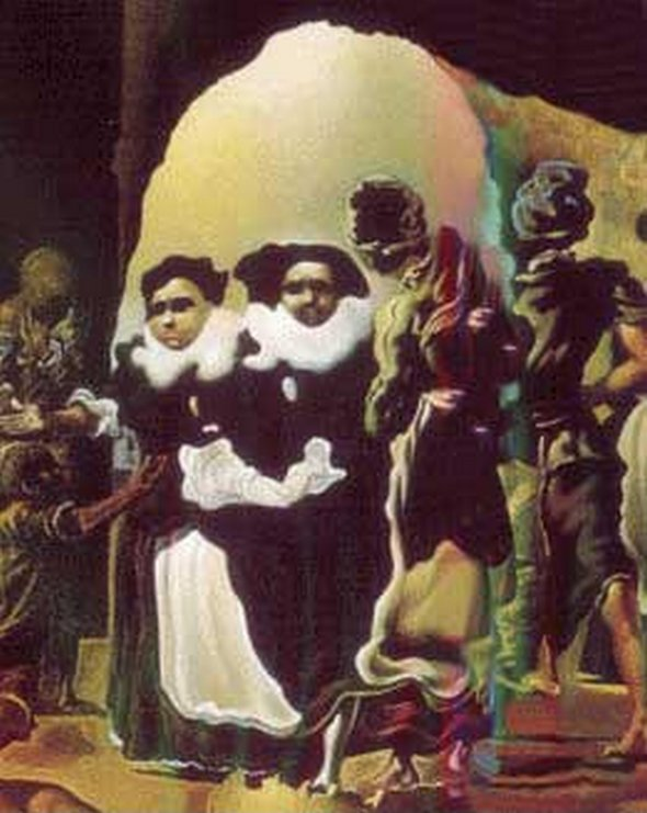 Salvador Dali Slave Market with the Disappearing Bust of Voltaire 1940