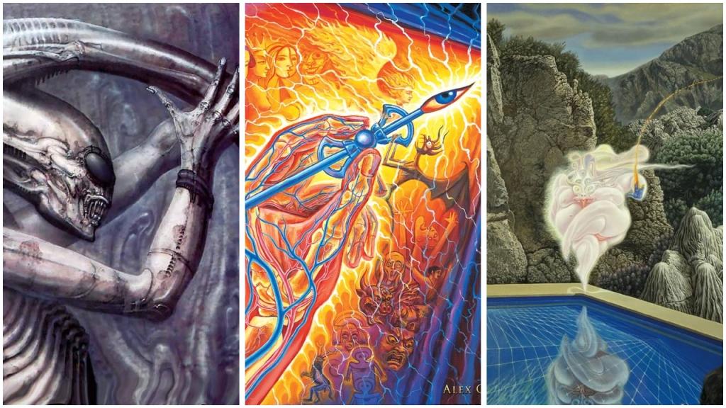 Vergleich Visionary Art