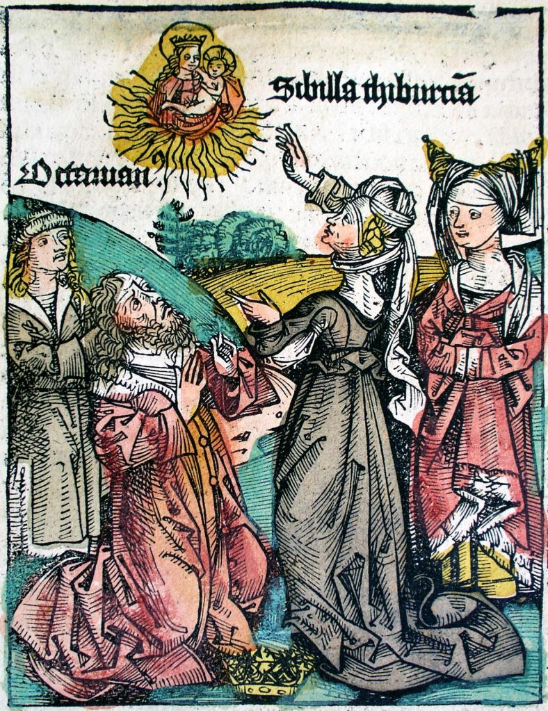 Tiburtinische Sibylle Schedelsche Weltchronik 1495