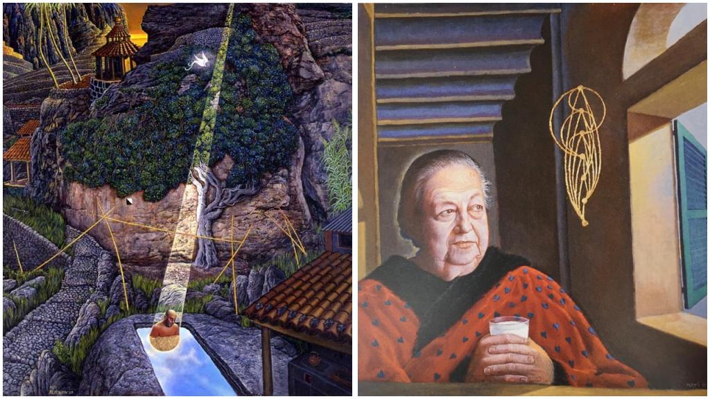 Vergleich Portraits Spätwerk