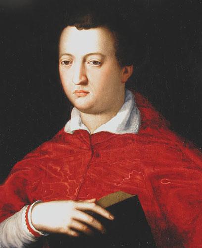 053 Lomi,_Baccio_(attr.)_-_Cardinale_Giovanni_di_Cosimo_I_de'_Medici,_Arcivescovo_di_Pisa