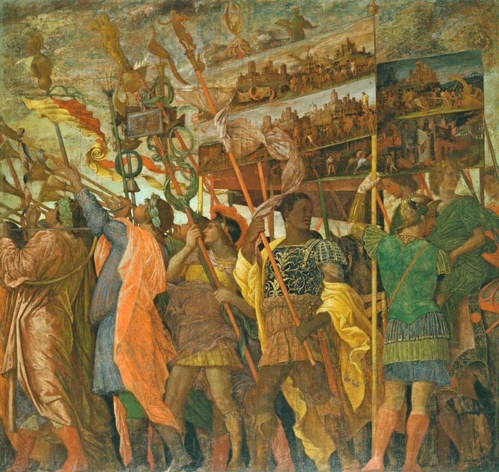 Mantegna, Triumphs of Caesar, 1484 - 92