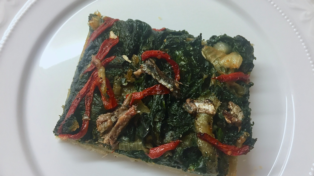 Gemüsepizza aus Mallorca