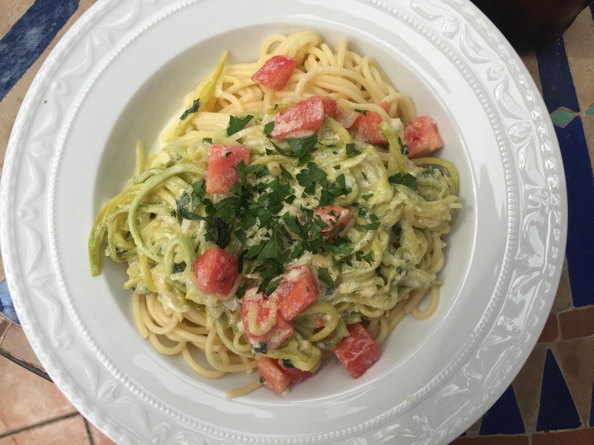 Zucchinispaghetti