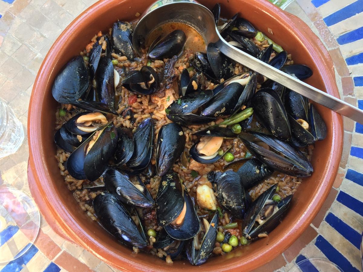 Mallorquinischer Arros Brut - zwischen Suppe und Paella