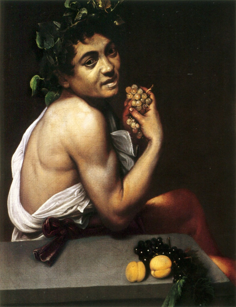 Caravaggio Selbstportrait