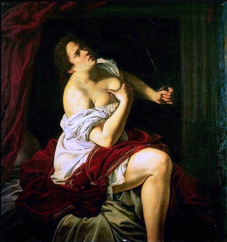 Gentileschi Lucretia