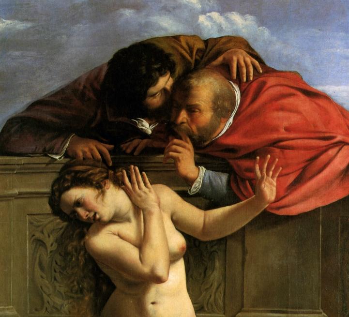 Gentileschi Susanna