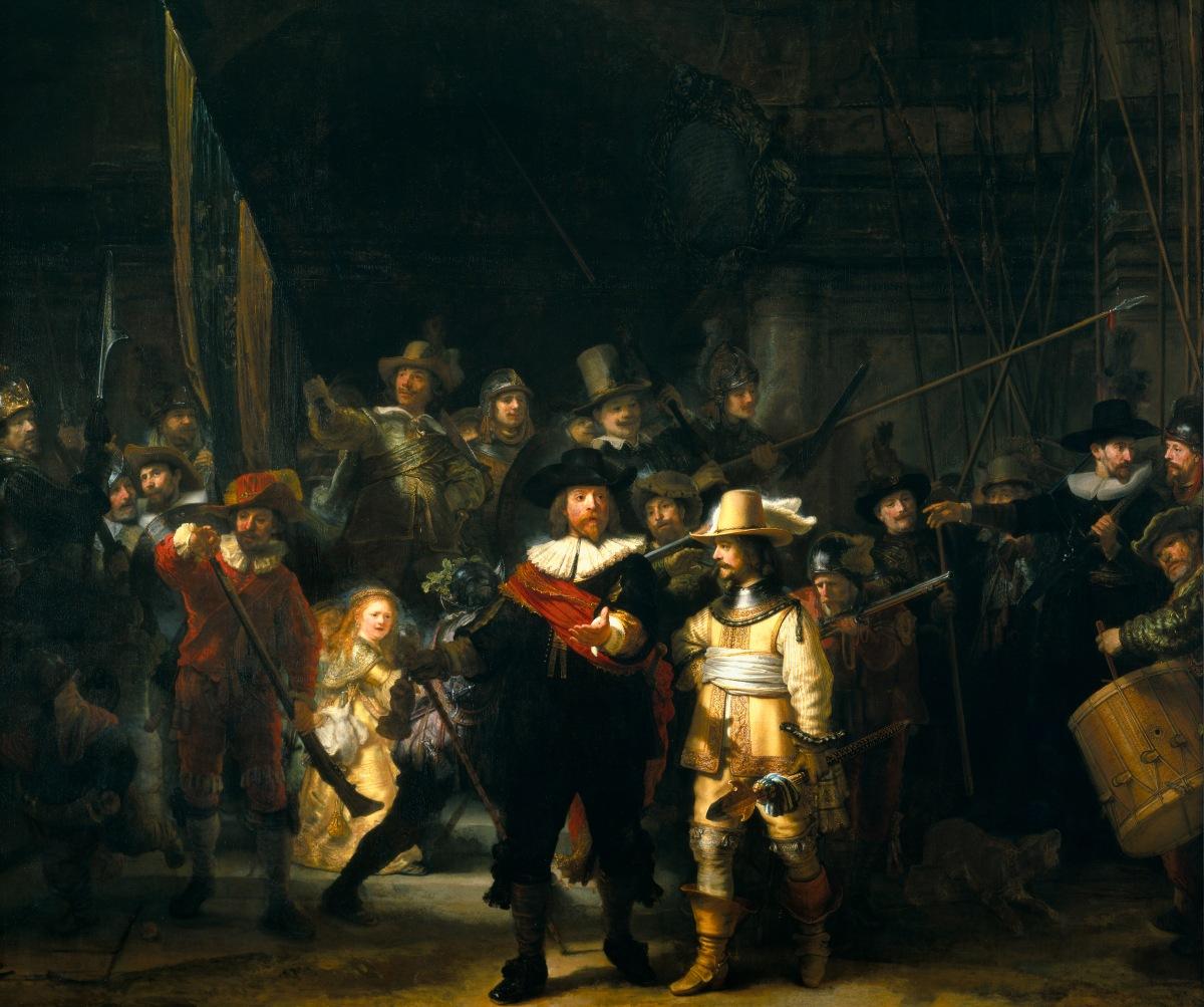 Rembrandt im Vergleich - Eine kurze Einführung