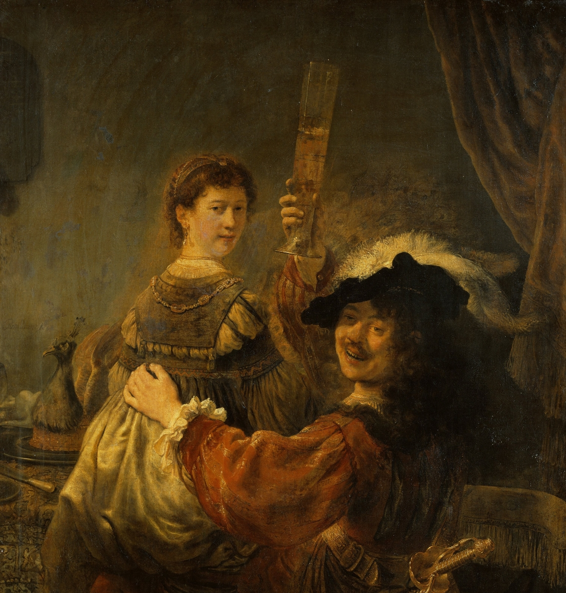 Rembrandt im Vergleich - Das Emmausmahl