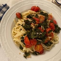 Spaghetti mit Salbei in nur 15 Minuten