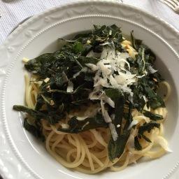 Spaghetti mit Salbei