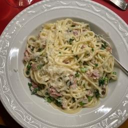 Schnelle Spaghetti Emiliana